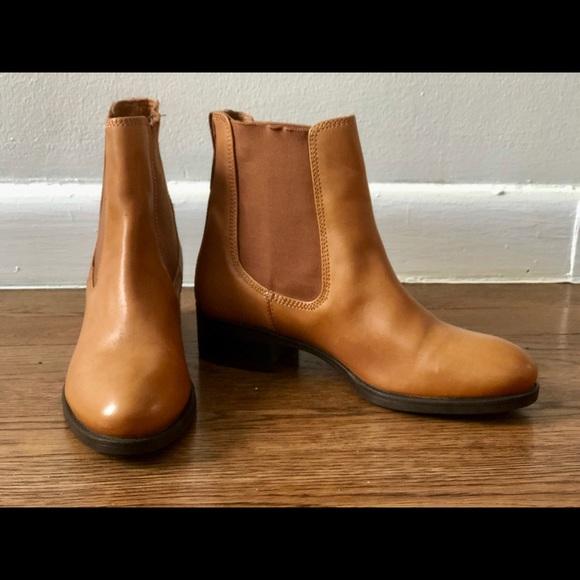 30cfc6bf46f André Paris Shoes - Tan Leather Chelsea André Paris Boots